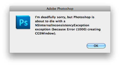 I'm deadfully sorry, but Photoshop is about to die